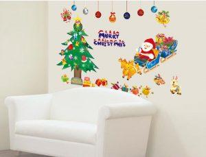 サンタクロース&クリスマス、ウォールステッカー