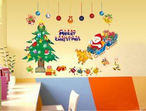 クリスマスツリー・ウォールステッカー