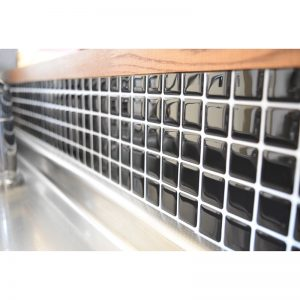 キッチン モザイクタイルシールALT-19 使用例