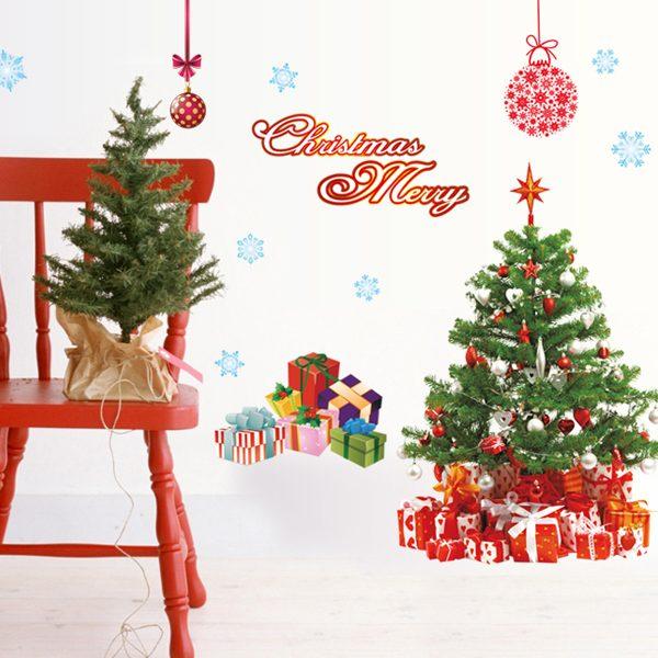 クリスマスウォールステッカーAY226A