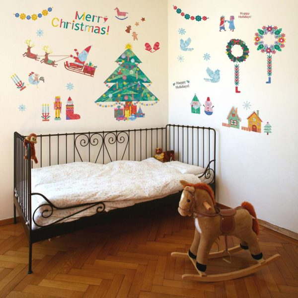 クリスマスウォールステッカーファンタジアストーリー