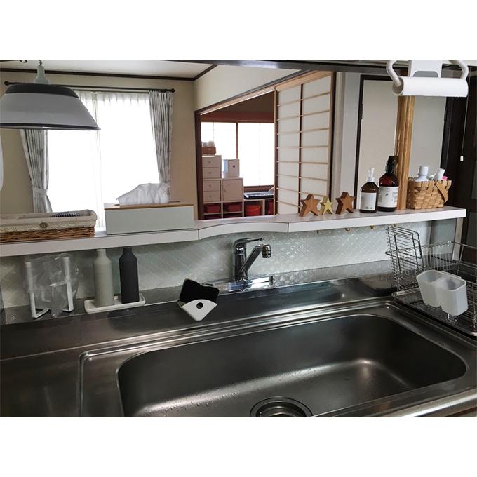 コラベルタイルシール キッチン 水まわりの防水